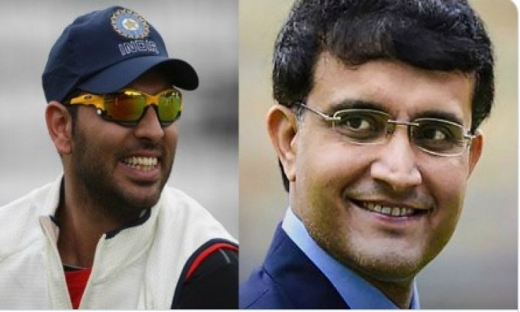 Please be professional: Yuvraj trolls Ganguly Images