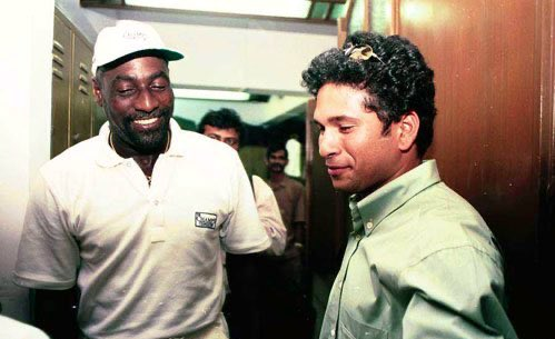 sachin tendulkar and vivian richards