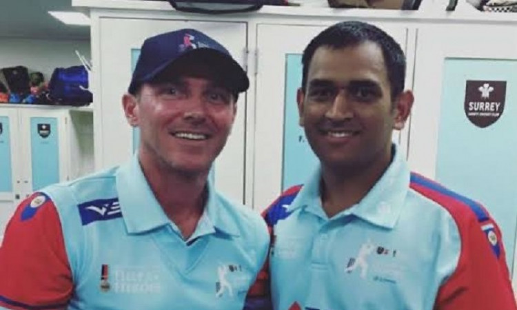Damien Martyn and MS Dhoni