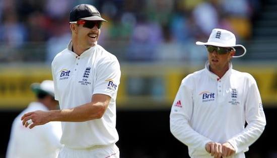Graeme Swann and Kevin Pietersen