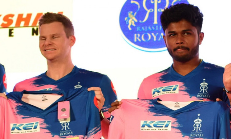 Sanju Samson and Steve Smith