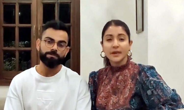 Virat Kohli and Anushka Sharma