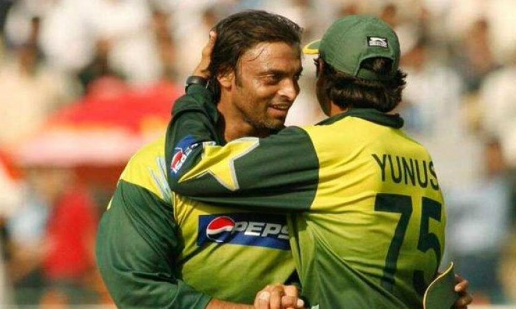 Younus Khan and Shoaib Akhtar