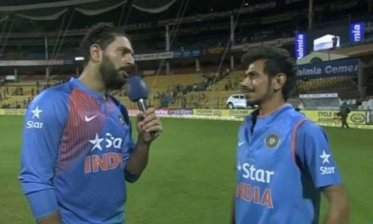 yuvraj and chahal