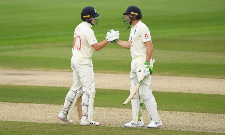 Ollie Pope and Jos Buttler