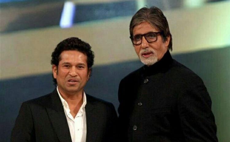 Sachin Tendulkar and Big B