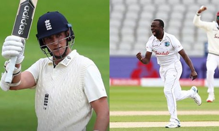 England vs West Indies third test 2nd day's statistical highlights