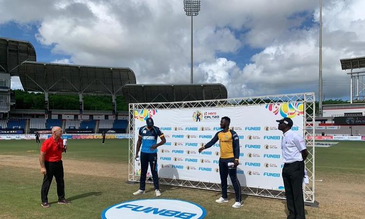 Barbados Tridents vs St Lucia Zouks