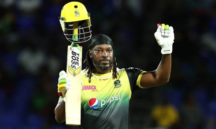 Top 5 batsmen with most sixes in cpl