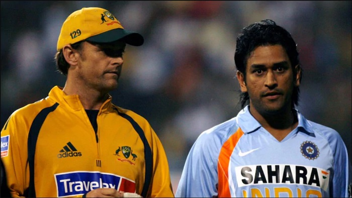 Dhoni and Gilchrist