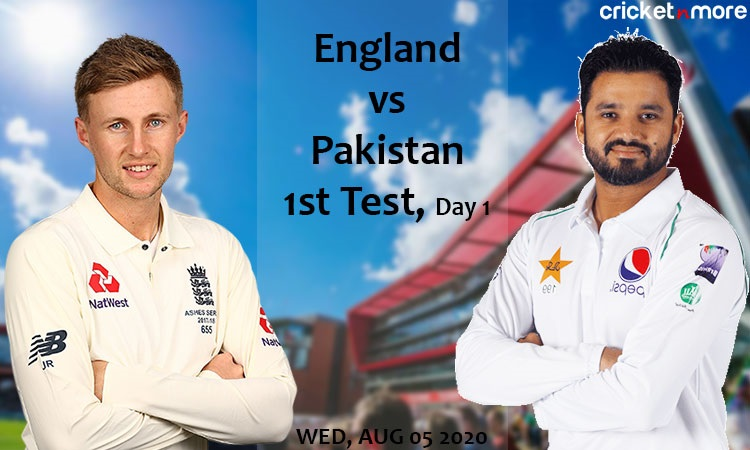 Preview First Test Match England vs Pakistan