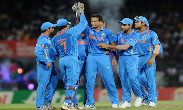 Irfan With Team India