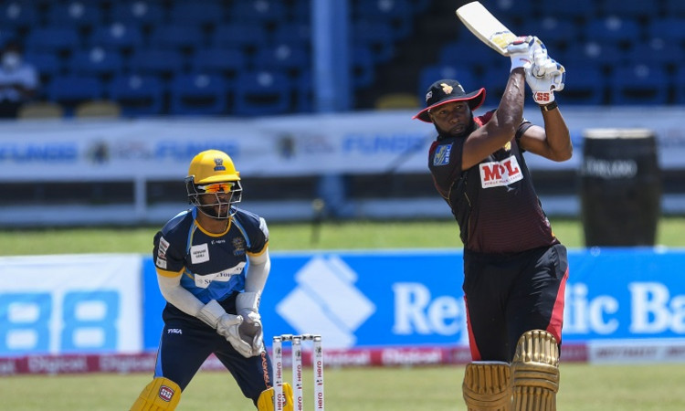 CPL 2020: Trinbago Knight Riders Beat Barbados Tridents By 2 Wickets Images