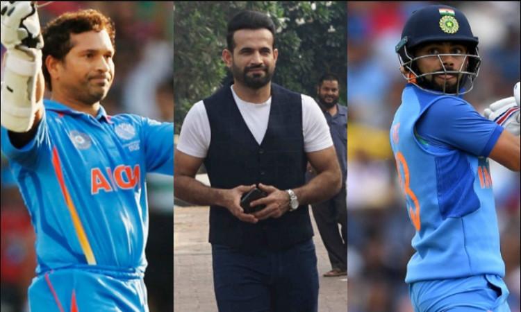 Kohli, Sachin and Irfan Pathan