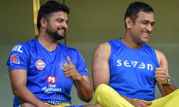MS Dhoni and Suresh Raina