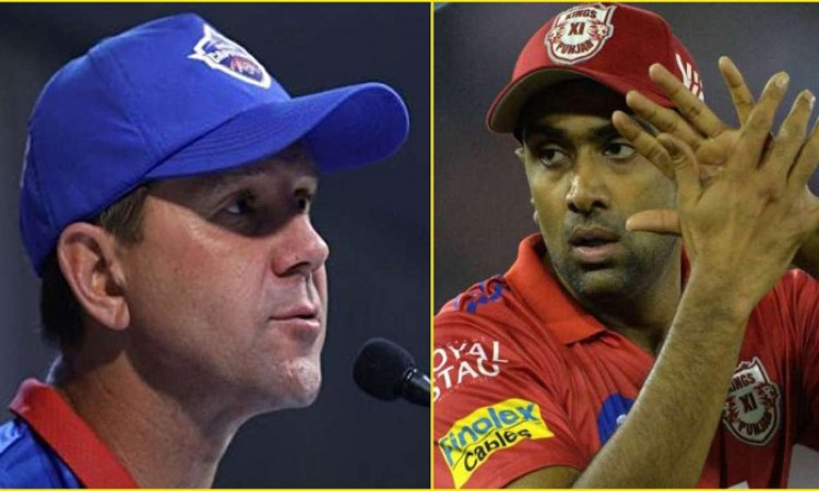 RICKY PONTING AND R ASHWIN