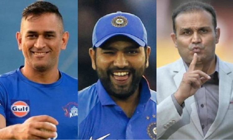 Rohit,Dhoni and Sehwag