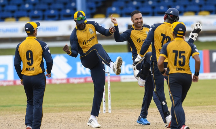 St Lucia Zouks won by 6 wickets