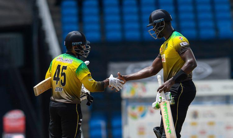 Jamaica Tallawahs vsSt Lucia Zouks