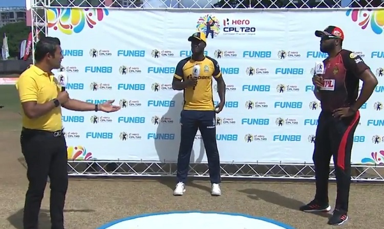 Trinbago Knight Riders opt to bowl against St Lucia Zouks
