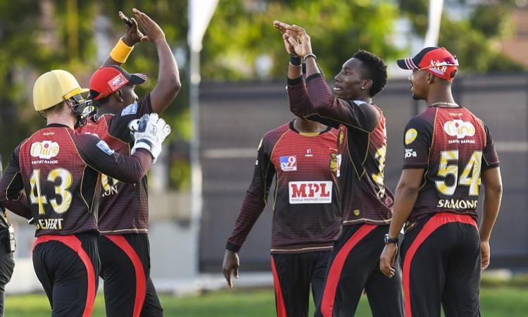 Trinbago Knight Riders beat Guyana Amazon Warriors by 7 wickets