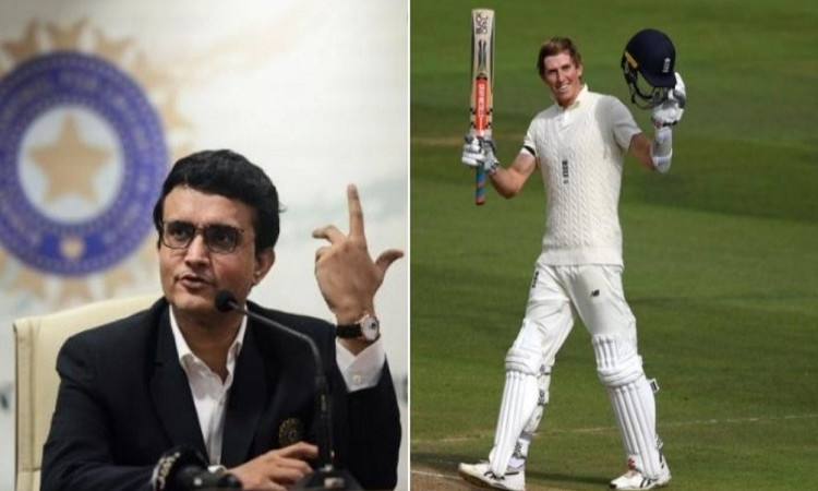 Zak Crawley And Sourav Ganguly
