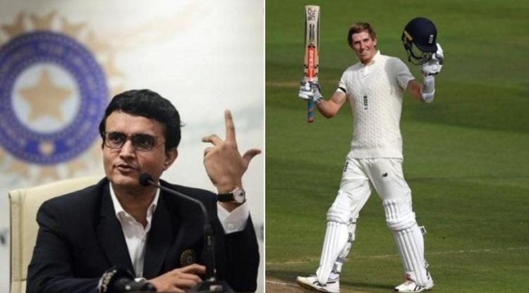 Zak Crawley And Sourav Ganguly