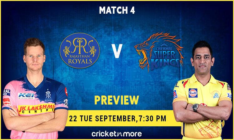Chennai Super Kings vs Rajasthan Royals – MyTeam11 Fantasy Cricket Tips, Prediction & Pitch Report I