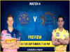 Chennai Super Kings vs Rajasthan Royals – MyTeam11 Fantasy Cricket Tips, Prediction & Pitch Report I