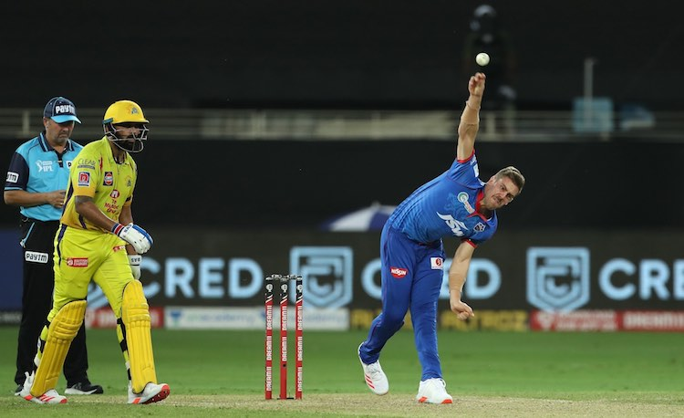 Anrich Nortje (DC V CSK) Images in Hindi