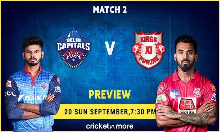 Delhi Capitals vs Kings XI Punjab Match
