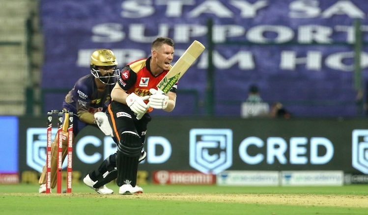 David Warner (SRH V KKR) Images
