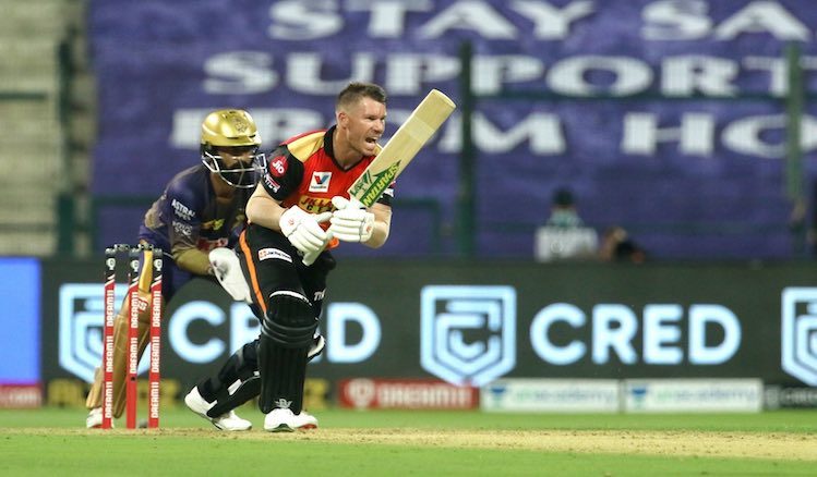 David Warner (SRH V KKR) Images in Hindi