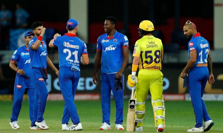 Delhi capitals beat Chennai by 44 runs