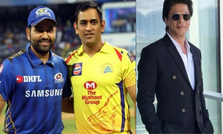 Dhoni, Rohit and SRK