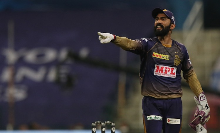 Dinesh Karthik (KKR V SRH) Images in Hindi