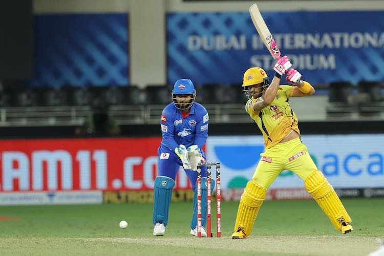 Faf Du Plessis (CSK V DC) Images in Hindi