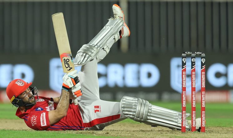 Glenn Maxwell (KXIP V RR) Images in Hindi