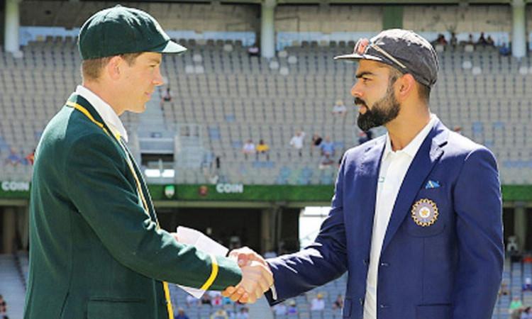 India vs Australia Test 2020