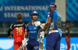 Kishan, Pollard heroics force a Super Over