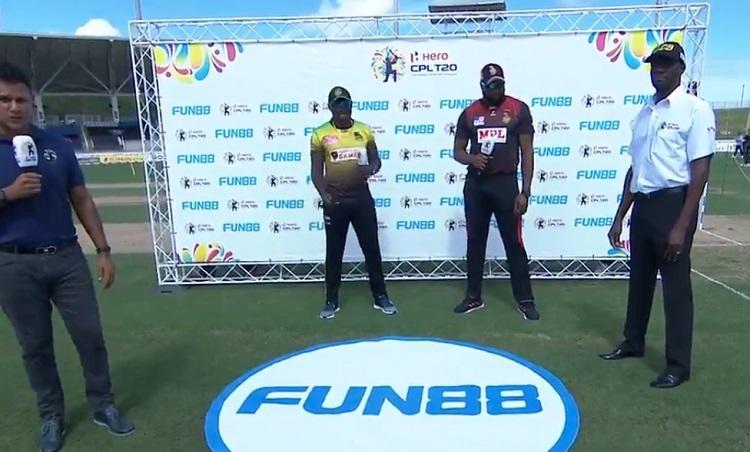 Jamaica Tallawahs opt to bowl against Trinbago Knight Riders
