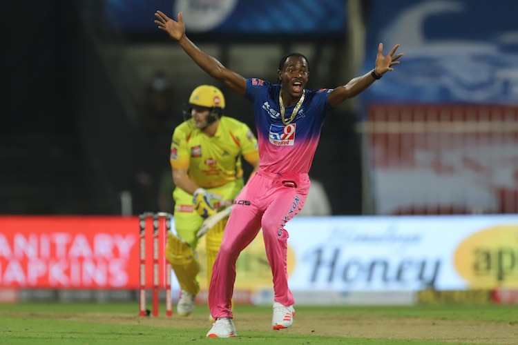 Jofra Archer Against Chennai Images
