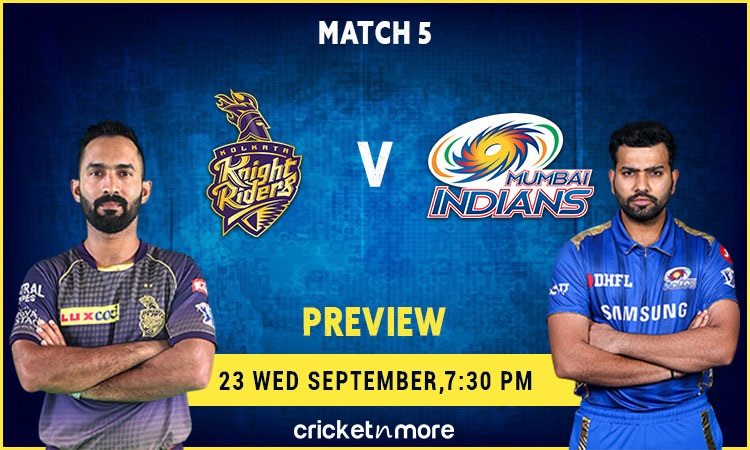 IPL 13: Kolkata Knight Riders To Lock Horns With  Defending Champion Mumbai Indians (Preview) Images