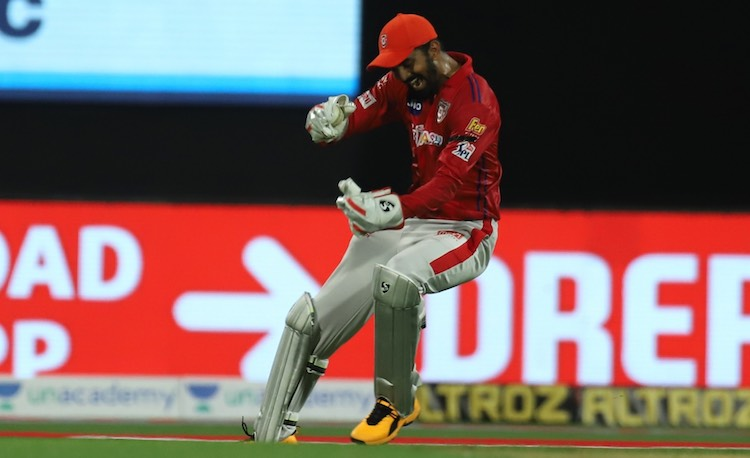 KL Rahul (KXIP V RR) Images in Hindi