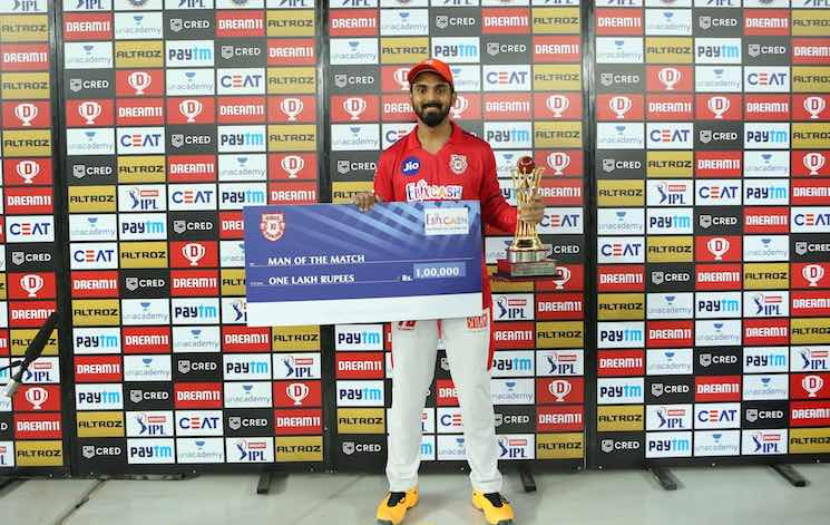 KL Rahul (Player Of The Match) Images in Hindi
