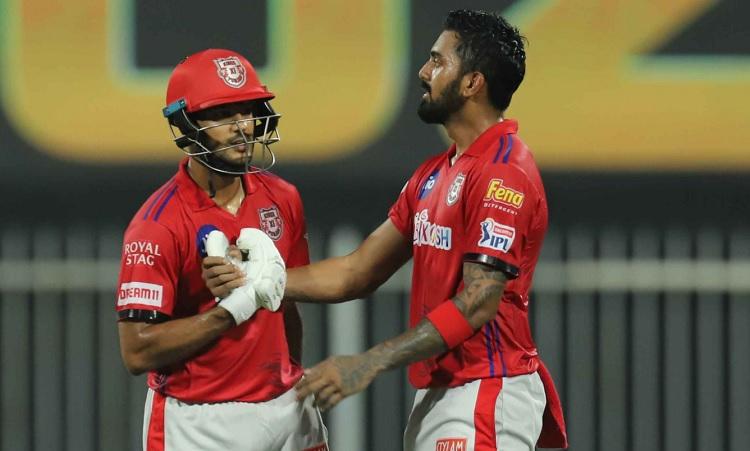 kings xi punjab set 224 runs target for rajasthan royals