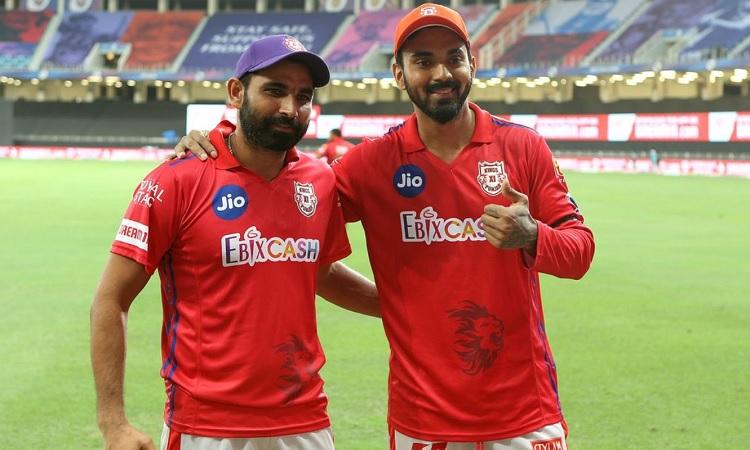 KL Rahul and Mohammed Shami