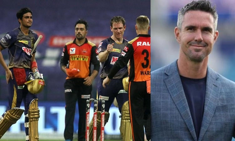 Kevin Pietersen and Shubman Gill