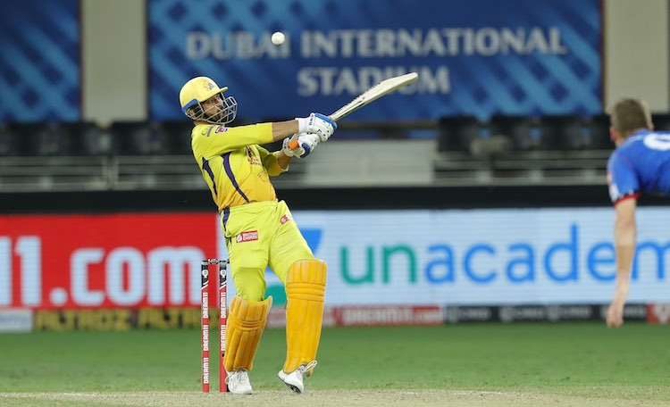 MS Dhoni (CSK V DC) Images in Hindi