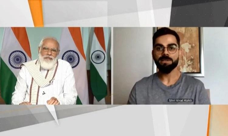 Modi And Virat Kohli